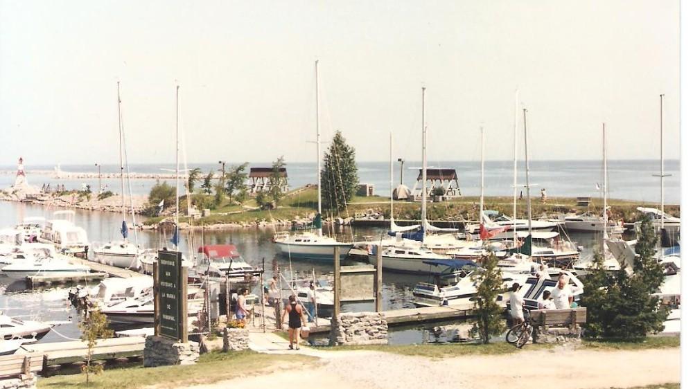 Fin années 80 - Entrée du bassin Nord